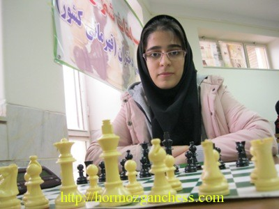 Raana Hakimifard (U18 Girls Champion)
