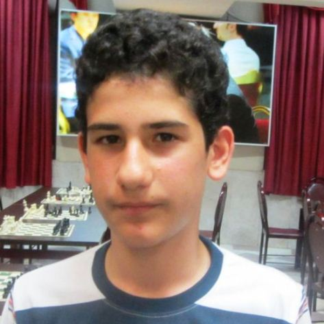 Reza Ghanbarzadeh (U14 Boys Champion)