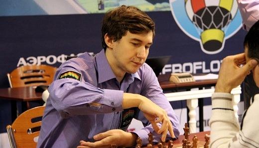 Sergey Karjakin Aeroflot