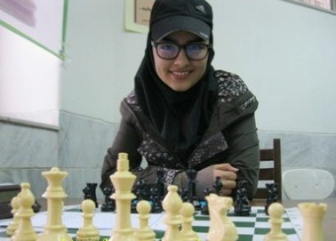 Yegane Karimi (U16 Girls Champion)