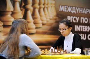 WGM Dinara Saduakassova still on first place