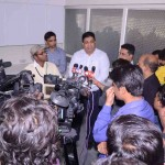 AICF Secretary Bharat Singh interacting with media during the function