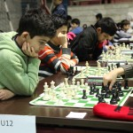 Arian Yousefikia and Ramtin Tavoosirad took the 2nd and 1st place, respectively, in the U12 Group