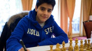 Aryan Tari, the youngest player to be awarded the GM title in the 1st Quarter Presidential Board meeting