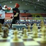 Chess-Boxing event