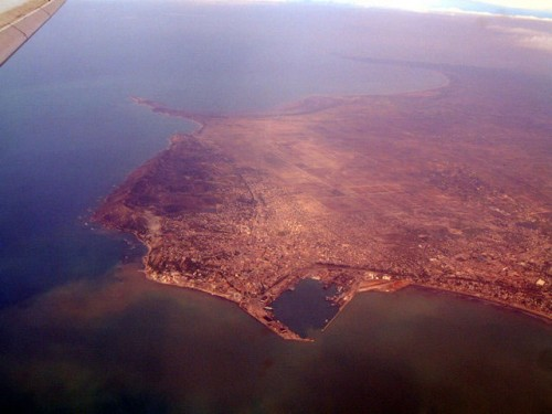 Durres seen from above
