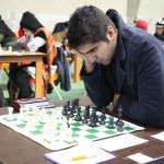 FM Amirreza Pourramezanali (2376) from Iran is on 17th place with 7 points