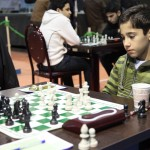 FM Arian Gholami, the U14 player, added 53 points to his elo rating