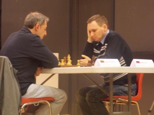 GM Eduardas Rozentalis (LTU) - GM Mikhail Ulibin (RUS)