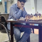 GM Pouria Darini (2514) from Iran finished third with 8.5 points. Pouria is one of the most talented Iranian chess players.