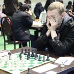 IM Mikhail Mozharov from Russia (2523) is on 15th place with 7 points