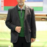 Kioumars Bayat, the chairman of Guilan province Chess Association and the organizer of Khazar Cup