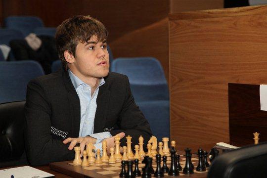 Magnus Carlsen Vishy Anand 2013