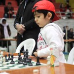 Pouia Pourmehran with 9 authoritative points from 9 games became the champion of the U6 Tournament