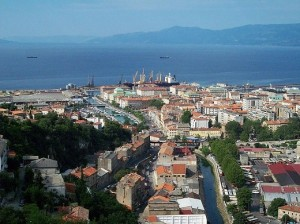 The city of Rijeka