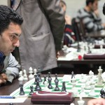 Shahram Salari, the Fide Arbiter, this time competed in the B tournament and collected 5 points from 11 rounds
