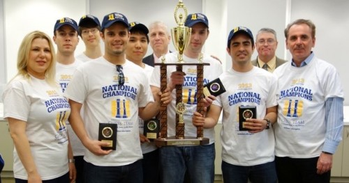 Webster Chess Team Captures Final Four Championship