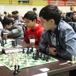 Zaur Abbasov (1853) from Azerbaijan became the champion of the U14 Group with 7 points