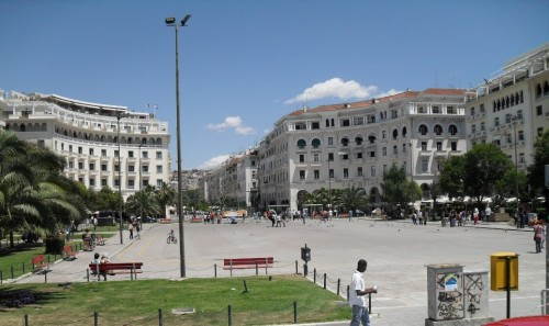 Aristotelous Square is the main city square of Thessaloniki