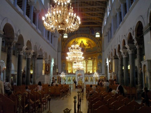 Church of Agios Dimitrios inside