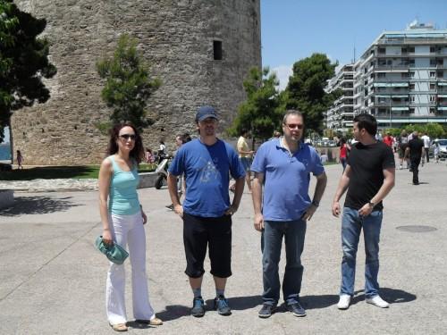 Feruza, Alex, Theodoros, Etienne