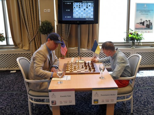 Gata Kamsky and Ruslan Ponomariov