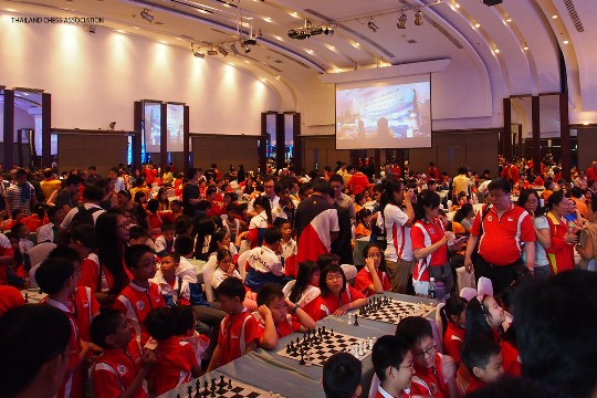 ASEAN+ Age-Group Chess Championships Opening 1