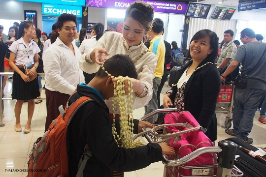 ASEAN+ Age-Group Chess Championships arrivals