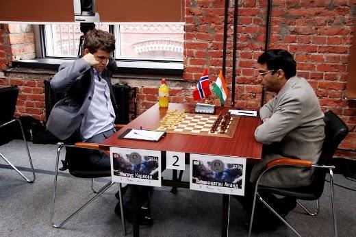 Carlsen - Anand