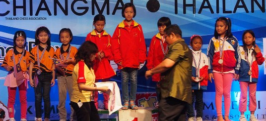 Entertainment as well as battle at the 14th ASEAN Age-Group Chess Championships
