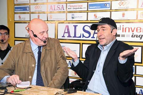 Press conference with Leontxo Garcia