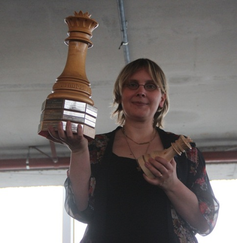 Lenka with the cup!