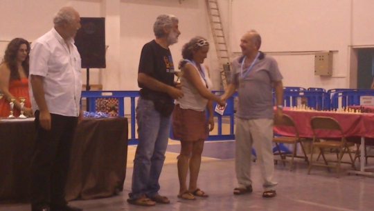 36th International Chess Tourament Ikaros 2013
