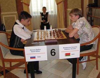 Dubov - Kovalev in 2009