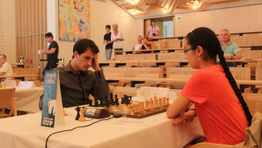 GM Ivan Cheparinov - WGM Dinara Saduakassova