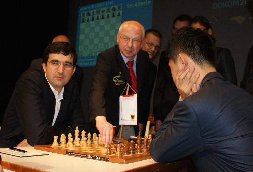 Kramnik - Wang Hao