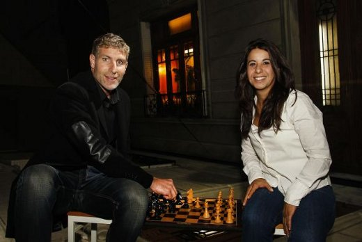 Martin Palermo was present to support the event