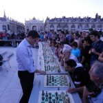 GM Matthieu Cornette in the simul