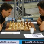 "The local fight between the Grandmasters from region ""Lorraine"" - Wirig against Bauer"
