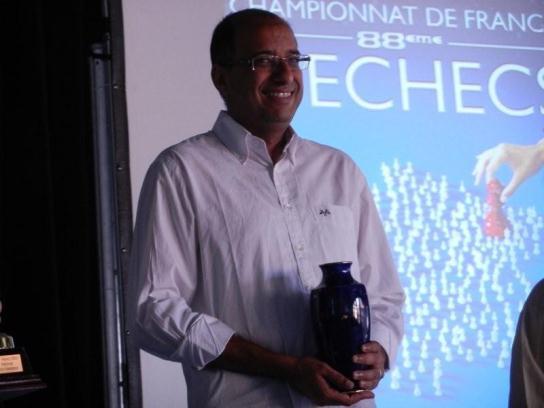 Smiling GM Hicham Hamdouchi