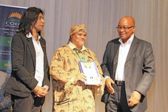 Jacob Zuma, Emelia Ellappen, Khoi Tribe