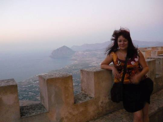 Katarzyna and Cofano sightseeing from Erice