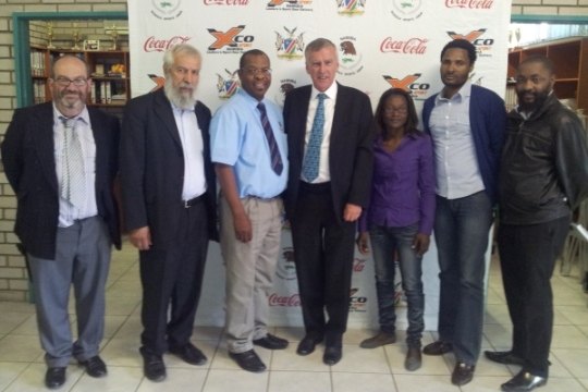 Meeting with Namibia Schools Sports Union