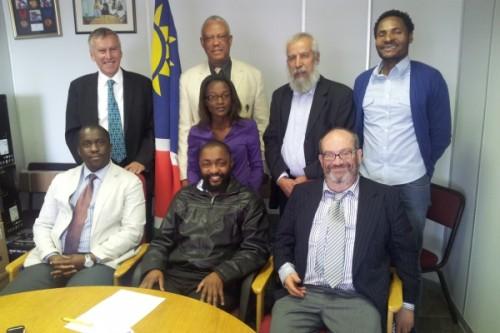 Nigel Freeman, Dr Vetumbuavi Veli, Lakhdar Mazouz, Fremantle Kuhanga, Kamutuua Tjajindi, Tshepo Sitale, Otto Z. Nakapunda, Rupert Jones