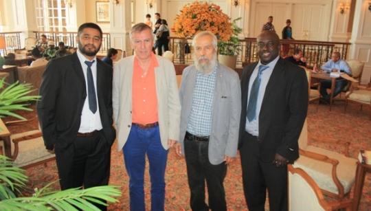 Nurdin Hassuji, Nigel Freeman, Lakhdar Mazouz, Geoffrey Mwanyika