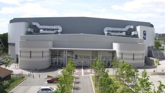 Palais des sports Jean Weille in Nancy