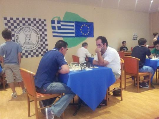 2nd International Open Chess Tournament Paleros
