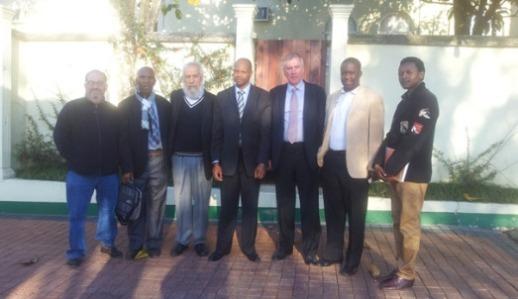 Rupert Jones, Abednego Dlamini, Lakhdar Mazouz, Arnold Bhekumusa Dlamini, Nigel Freeman, Tshepo Sitale
