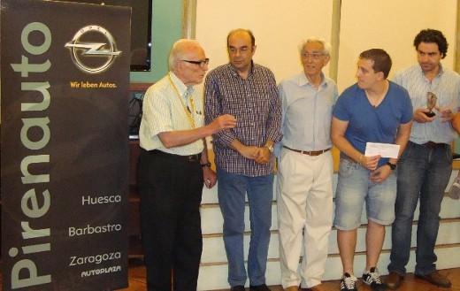 Prize-giving ceremony (Photo: radiohuesca.com)