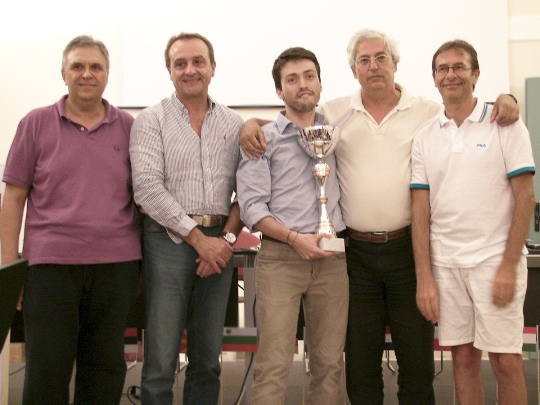 Italian FM Andrea Amato winner of Open A